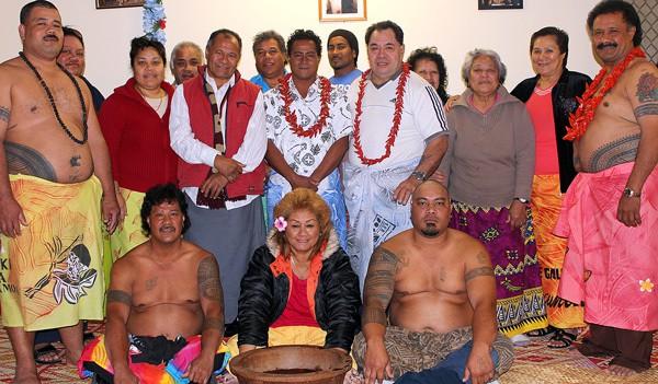 Usu faaaloalo le Tofa Saili i le faigamalaga Afioga Patele Faalelei Tapuala mai Samoa