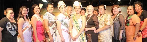 Faapaleina Mary Pakileata Greatz, Miss Samoa Aust – 2011/12