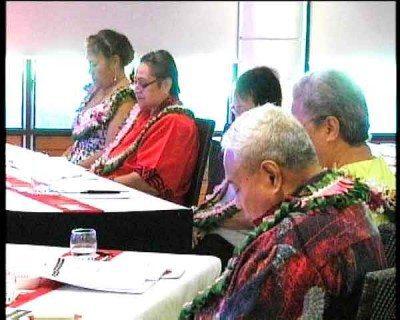 Nisi o tamaitai sa iai i le fonotaga a tamaitai o Samoa