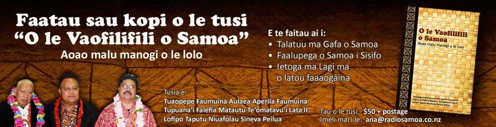Vaofilifili samoan book