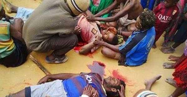Tagata maliliu i Papua mai fitafita Indonesia Photo: Free West Papua Campaign