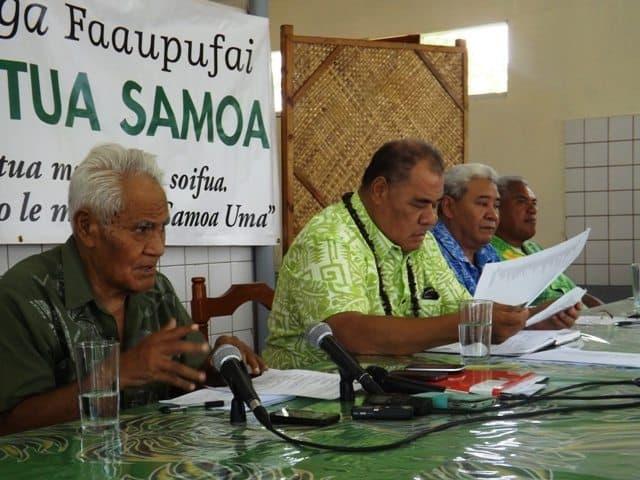 Faailoa faiga faavae a le Tautua Samoa