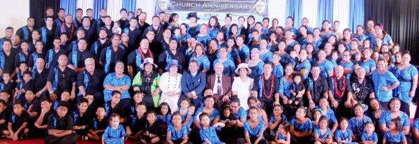 C Pastor Galumalemana Veni Morisa ma le faletua ia Annie Morisa, Pastor Tafunai Muaiava(taitai aoao Samoan AOG NZ) ma le ekalesia Gateway Inaternational Ministries Samoa