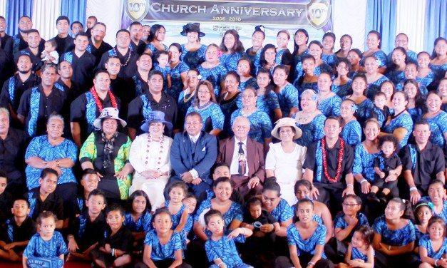 10 tausaga o le Gateway International Ministries Samoan AOG