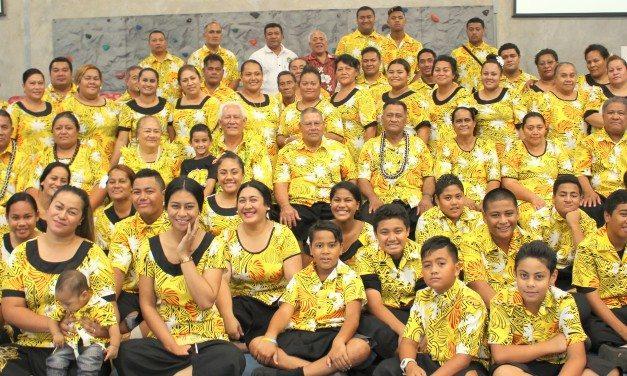 Toe pale Ps Tae'auga Frost i le tofi 'Taitai aoao Church of Samoa i Ausetalia'