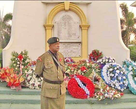 Se vaaiga i le faamanatuina o le ANZAC Day i Samoa i lenei tausaga, 2016