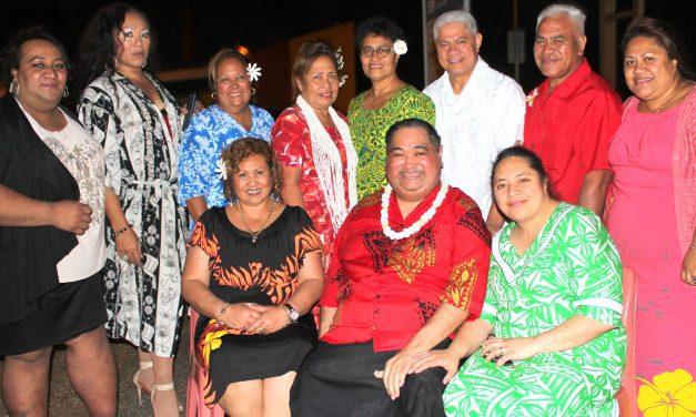 Gardenia Hinano Boutique Fasion Show ma Cindy of Samoa