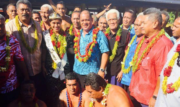 Faafeiloai e Laulii sana tamafanau ua pale ile Tausala o Samoa