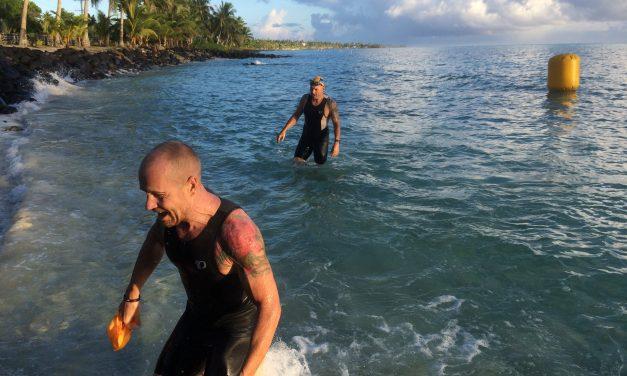 Manumalo le alii Sweden ile uluai Sau'ai Savaii Triathlon