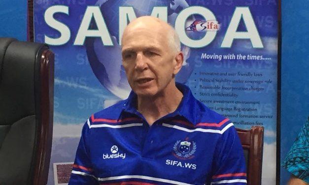 Maua ele Samoa Sevens Sir Gordon Tietjens