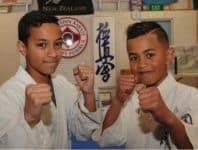 Maua le fusi uliuli ile Karate  e Elijah Mareko o Porirua