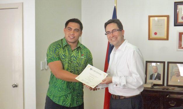 Folafola e Peretania le tele o avanoa o Samoa