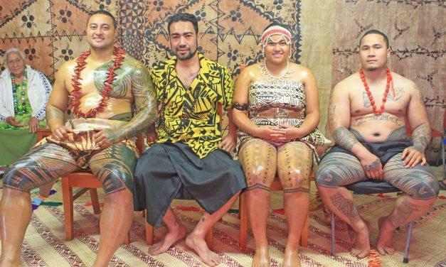 Taunuu le moemitiga ale atalii ile fia laei ile Tatau a Samoa