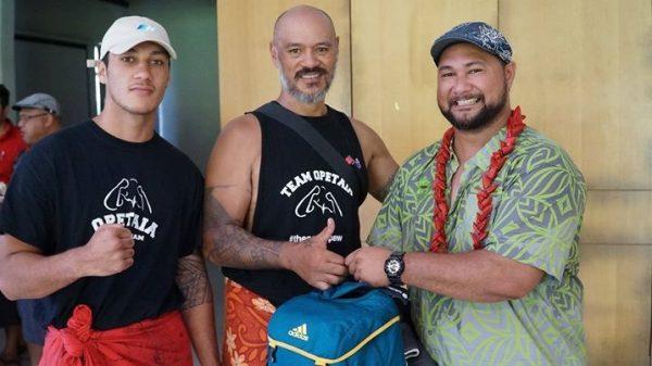 Le alii o Jai Opetaia ma lona tuaa ia Tapu Opetaia ma sui ole Kalapu ale Malisi Samoa
