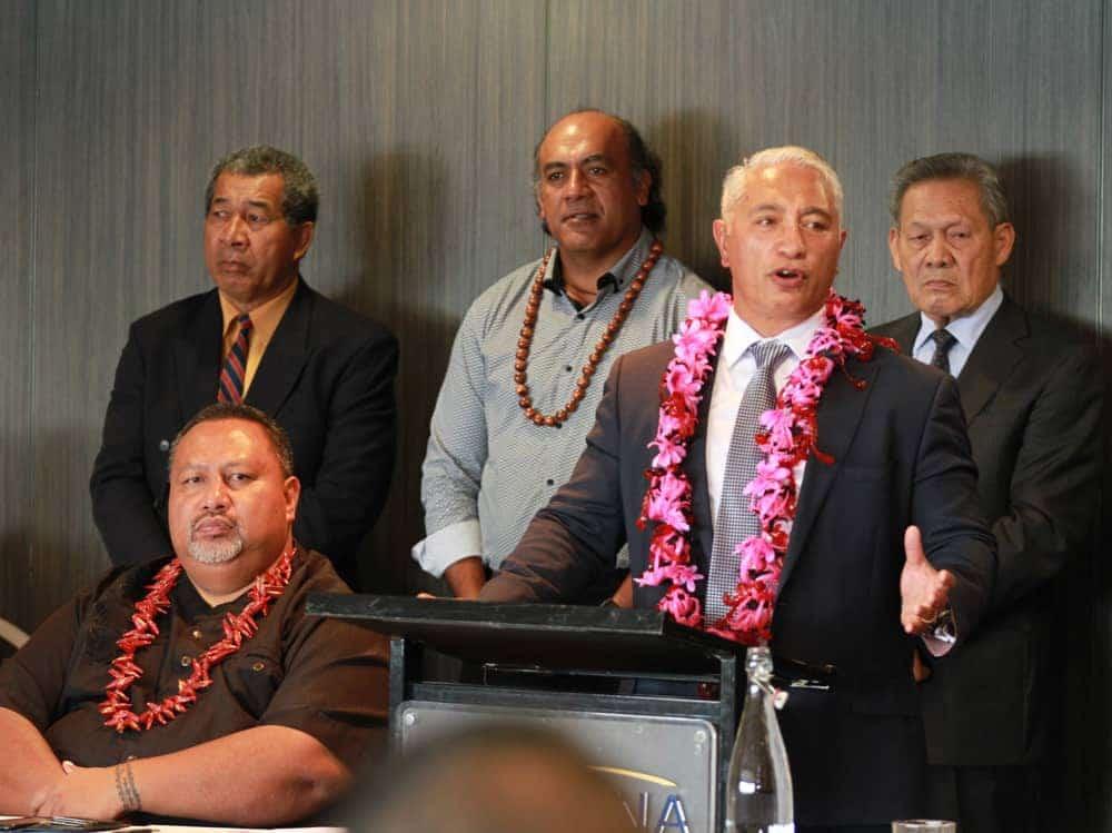 Feiloai le Pacific Leadership Forum ma le Minisita fou o Tagata Pasefika