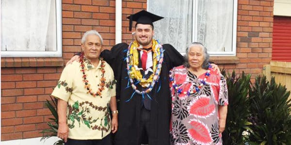 Michael ma nai ona grandparents o Faamoemoe ma Faumuina Tuaopepe Su'a