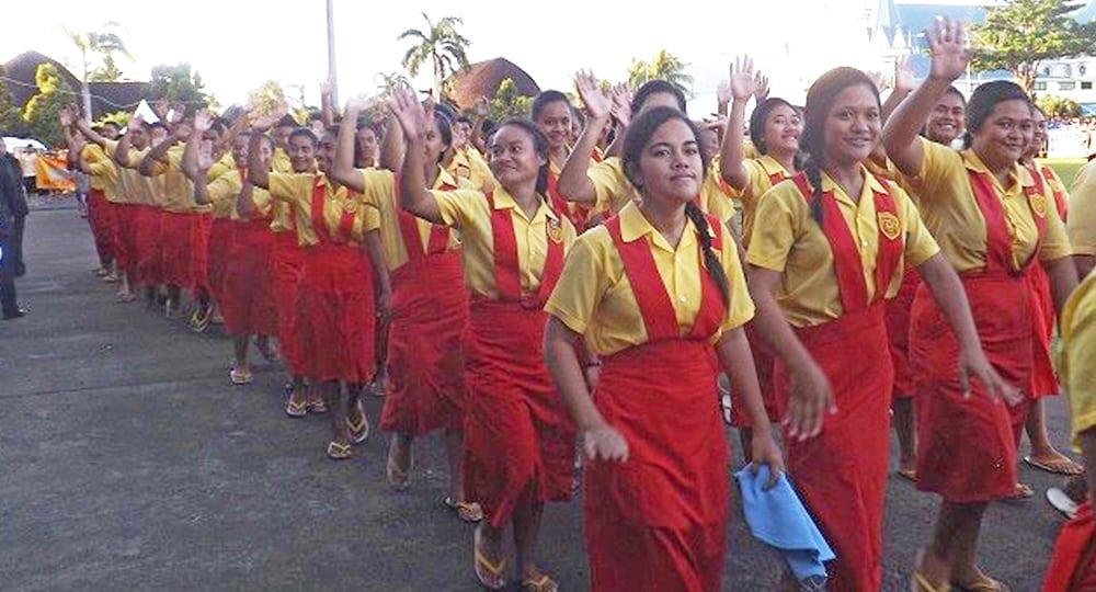 O fanau oloo aoaoina ile Kolisi o Samoa