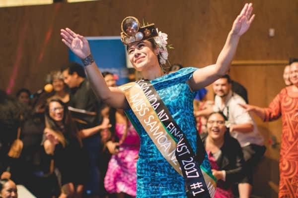 Le tamaitai o Natalie Leitulagi Toevai ua avea nei ma Miss Samoa NZ 2017-2018 - Photo: Fata Tuialii (MSNZ)