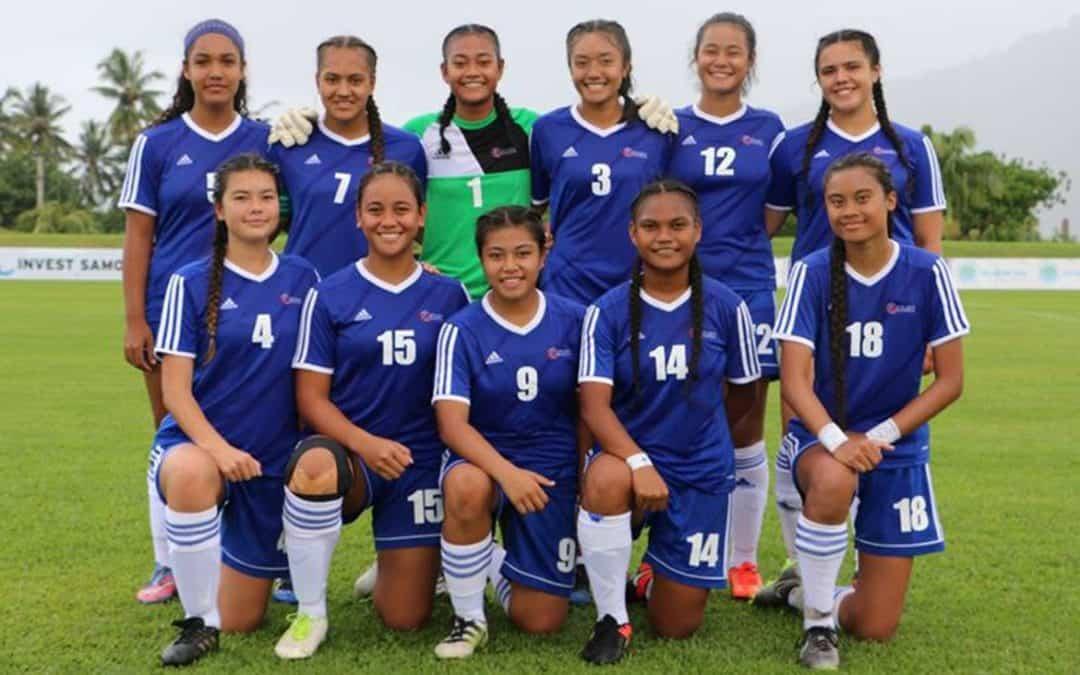 Talimalo Samoa ile U16's OFC a tamaitai
