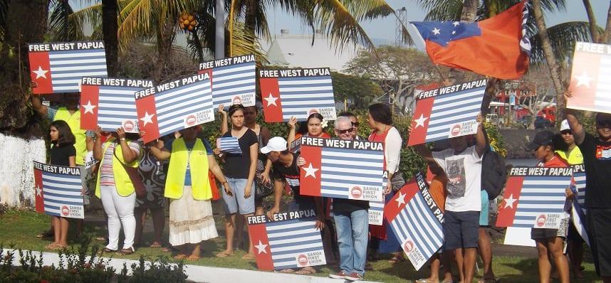 Lagolago ele Samoa First Union  se tutoatasi o Papua i Sisifo