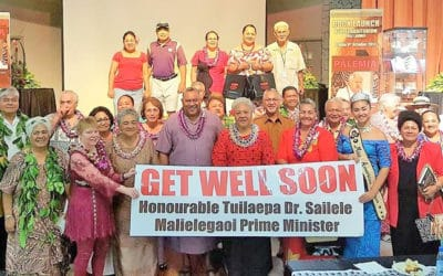 Nofo pogisa Samoa ile gasegase ole Palemia