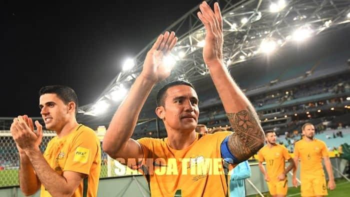 Sao Tim Cahill ma le Socceroos ile FIFA World Cup 2018