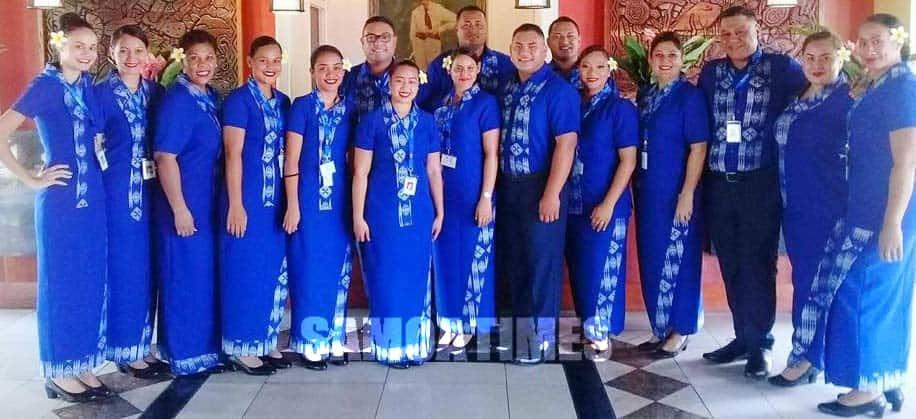 SAMOA AIRWAYS – Tulaueleele i Aukilani le vaalele fou a Samoa