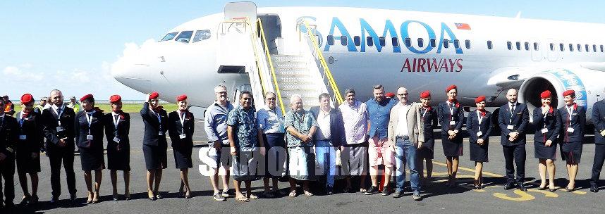 Augata le taitaifono e faailoa tupe faavae  ole Samoa Airways