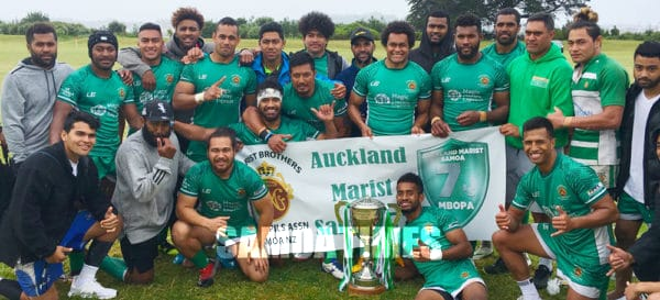 Manumalo Auckland Marist Saints, ile taitoafitu a tama tuai o Malisi