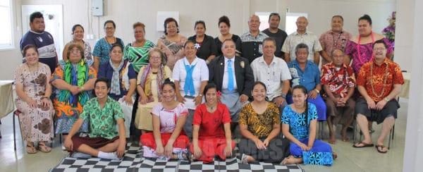 Rev Eric Mulitalo ma lona faletua ia Anote Mulitalo, aumalaga mai Samoa faapea le mafutaga a Fasitootai i Aukilani