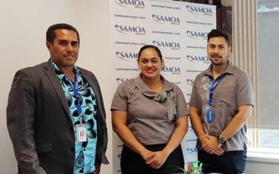 Tatala le Ofisa ole Samoa Airways ile Fale  o Samoa i Magele