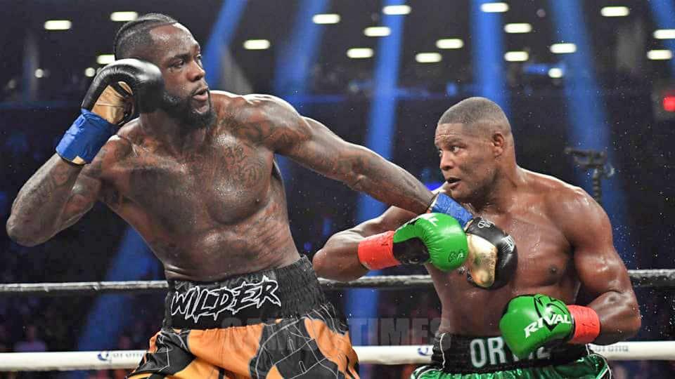 Nofo le fusi ole WBC ia Deontay Wilder