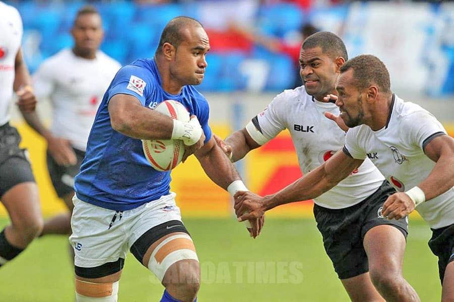 Faamavae Toleafoa Falemiga Selesele mai  le Manu Samoa Sevens