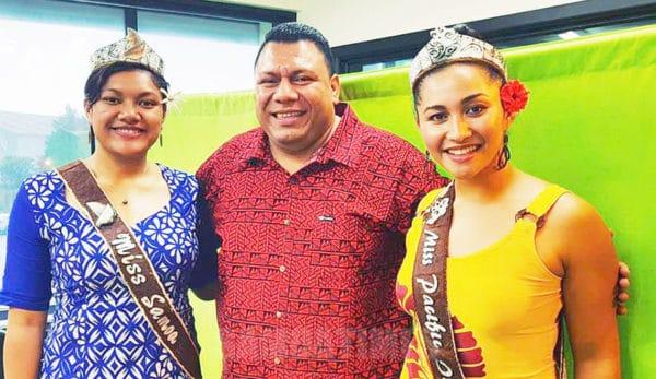 Tausala ole Pasefika, Matau'aina Gwendolyn Toomalatai ma le Tausala o Samoa, Susuga Papalii Alexandra Iakopo, ma le alii faasalalau ale Radio Samoa, Seumanu Francis Ioane