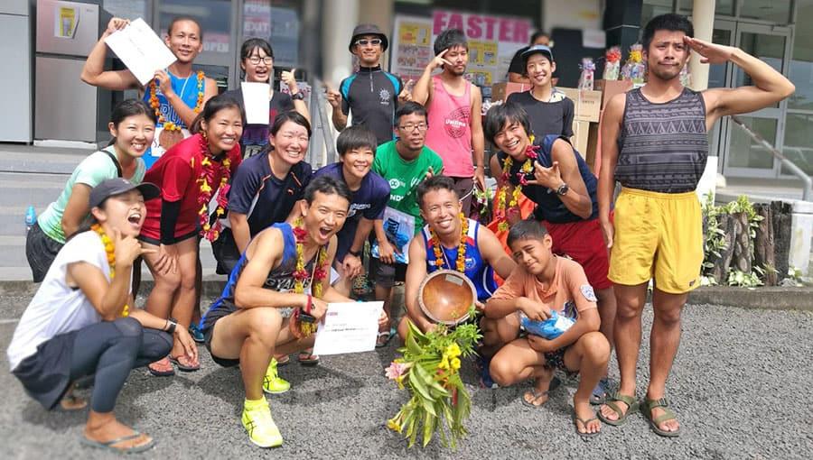 Toe sola foi Kuniyoshi Watanabe o Iapani ma le mua ole Savaii Marathon