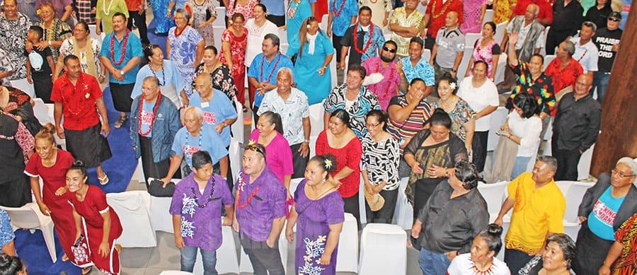 Na tapua'ia faiva o Laauli Joseph Parker  e Samoa i Aukilani