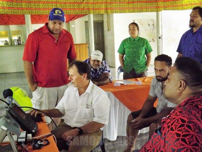 Tufa i inisinia o faasalalauga a Samoa  tomai o alii Ausetalia