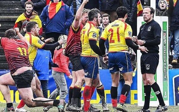 Taaloga a Spain ma Belgium na laufali ai le alii mai Romania lea na manumalo ai Belgium ma au ai Romania i le RWC 2019