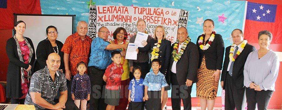 Faamatuu le eleele mo le Aoga Leataata  o Tupulaga Pre-School