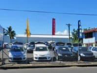 O le faletaavale a le Sai Motors i Apia