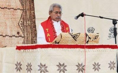 Seei Rev Apa Lealiifano i le Tofi Taitaifono  a le Fono Samoa PIPC