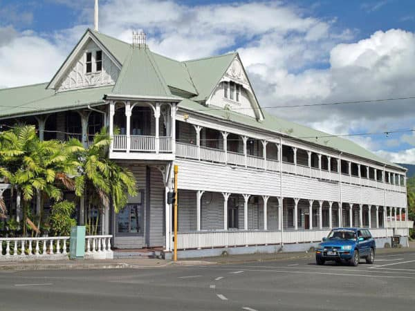 O le fale faamasino tuai, o se vaega o talafaasolopito o Samoa