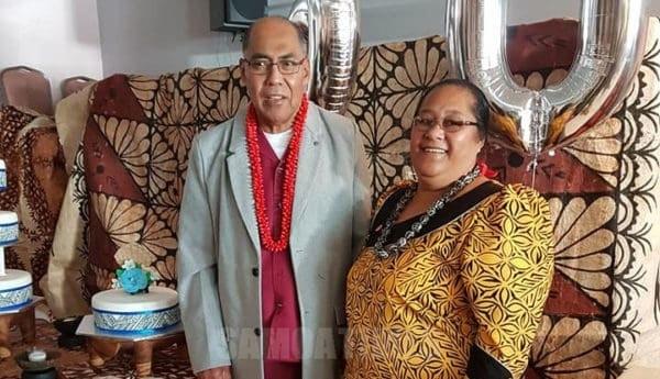 Susuga i le Toeaina ia Rev Elder Dr Vili Iosua ma le faletua ia Folose