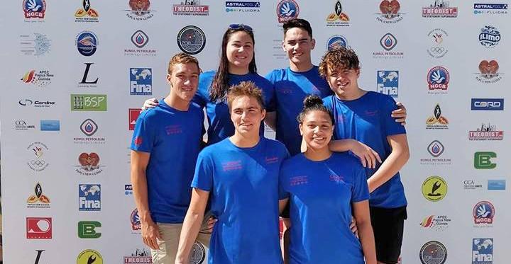 Tauva Samoa Swimming i Oceania i PNG