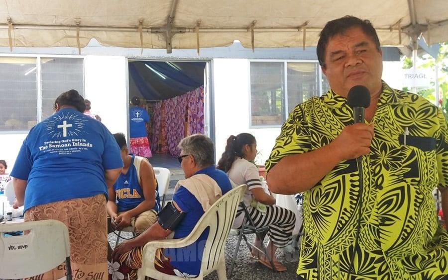 Galulue fomai Amerika e fesoasoani mo tagata Samoa e aunoa ma se totogi