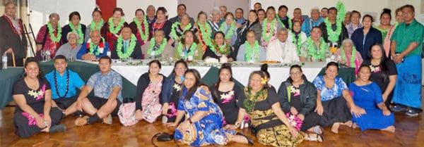 Le paia lasilasi o Samoa na potopoto i le Aso mo Tuaa Sinasina i Melepone ma le Fono Faufautua mo tagata Samoa