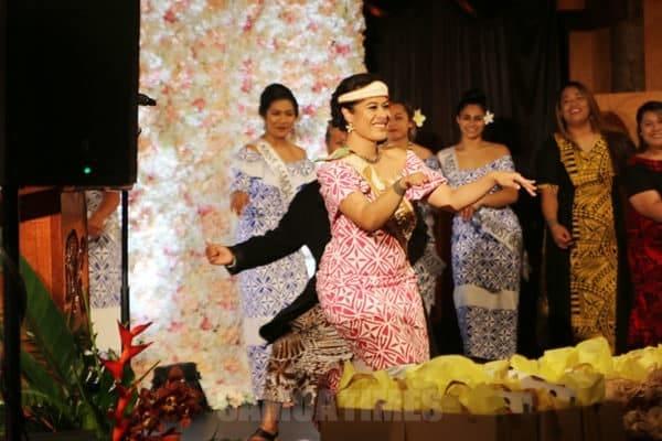 Le tamaitai sa avea ma Miss Samoa NZ 2017-2018, Vaiotausala Natalie Leitulagi Toevai i lana saasaaga mulimuli i lea po - Photo: Charles Palesoo