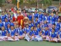 Alo ma tamaitai Samoa i le asosi a le Queensland Samoa Netball INC