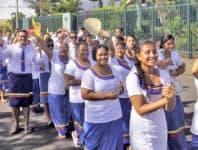 O tupulaga talavou a le Ekalesia Katoliko mai Niu Sila, Ausetalia, Tokelau, Amerika Samoa ma Samoa sa mafuta faatasi i Samoa i le vaiaso ua mavae