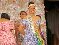 Cecilia Tufuga Fatu - Miss Samoa NZ 2018-2019 - Photo: Charles Palesoo
